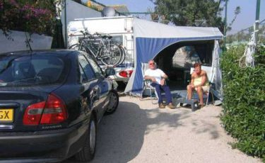 family in camping costa blanca plot