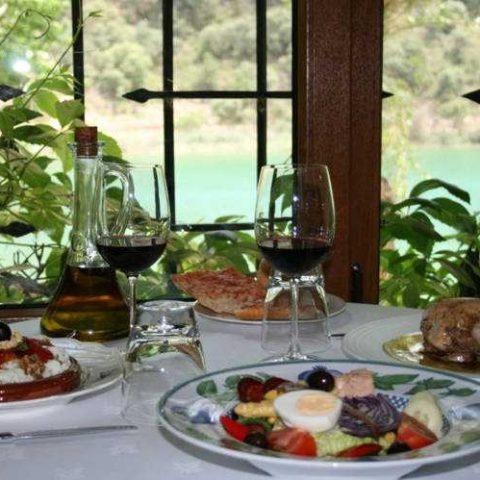 Hotel Albamanjon restaurant