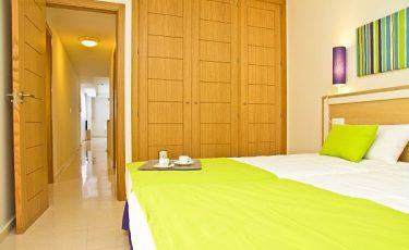 bedroom in PV apartments in seville