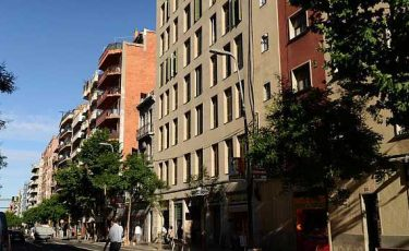 exterior pet friendly apartments in Barcelona
