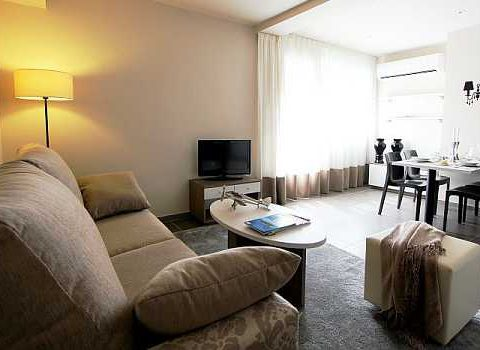 living room pet friendly apartments in Barcelona