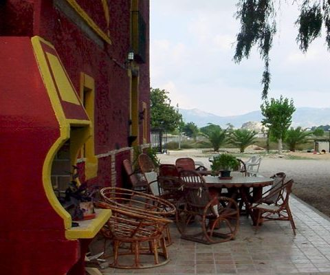 barbacoa zone of the pet friendly rural house